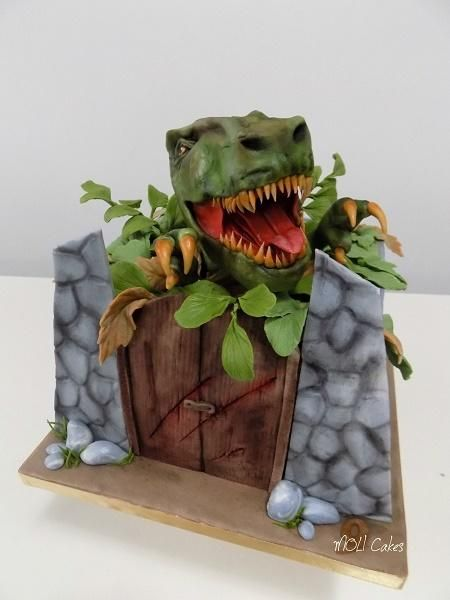 T-Rex by MOLI Cakes