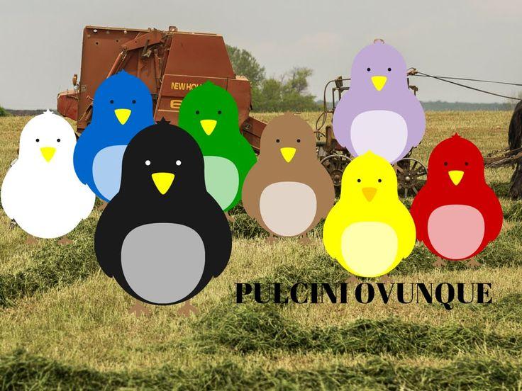 TUTORIAL - Come fare i pulcini con la lana - chick with wool ITA