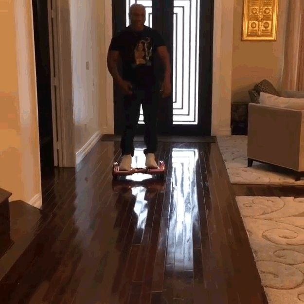 If It Makes You Feel Any Better Mike Tyson Also Fell On A Hoverboard