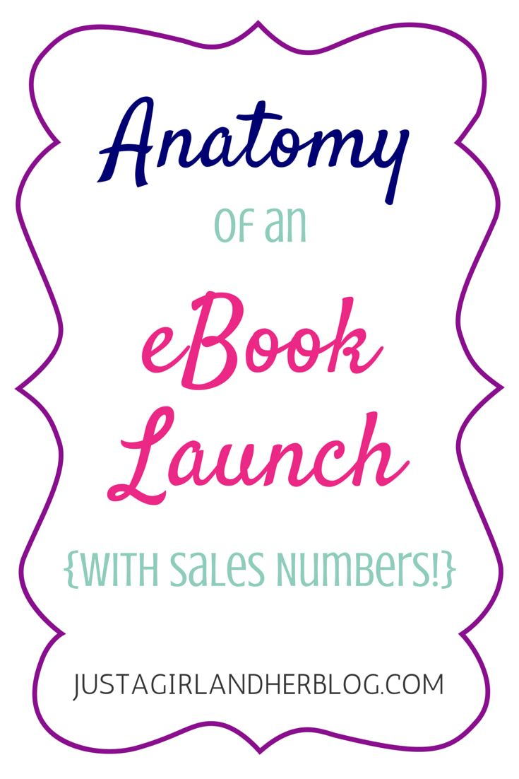 Anatomy of an eBook Launch | JustAGirlAndHerBlog.com