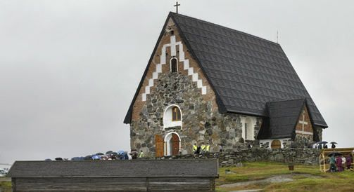 keskiaikainen Pyhän Olavin kirkko