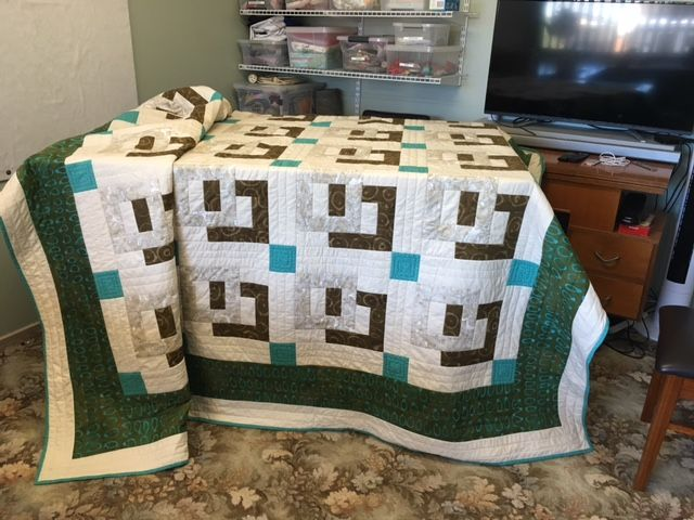 My King Size Bed Quilt