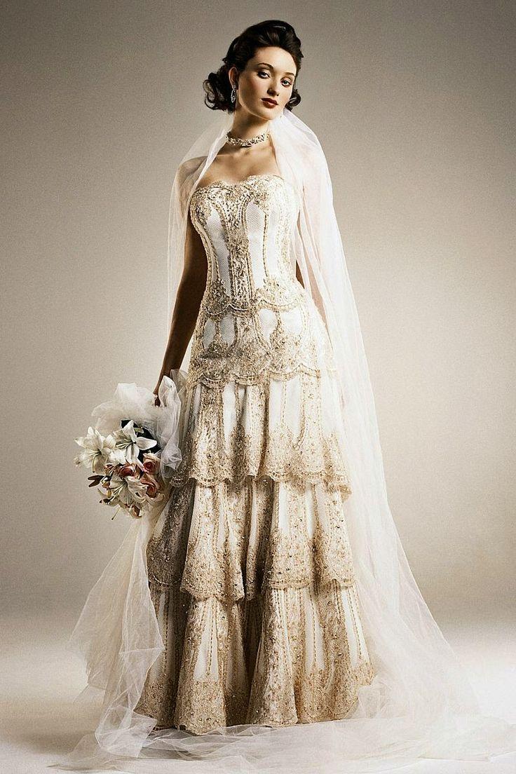 Best Vintage Antique Or Vintage Inspired Wedding Gowns Images