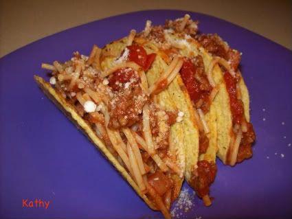 Nickelodeon's iCarly Spaghetti Tacos | Tasty Kitchen: A Happy Recipe Community!