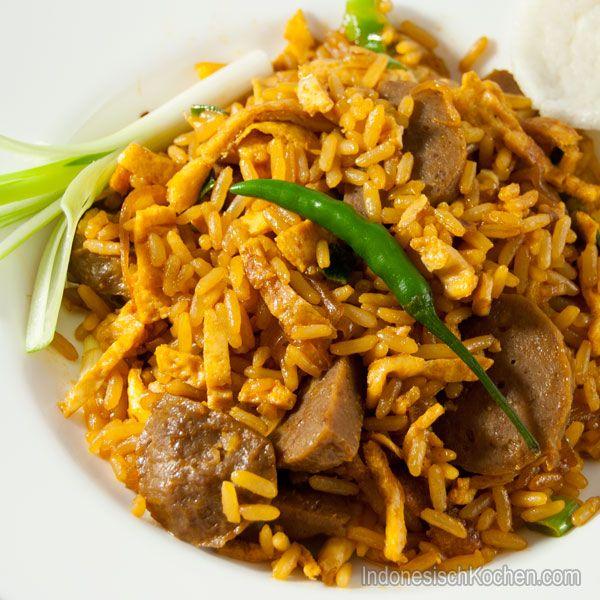Schnelles Nasi Goreng | Indonesisch Kochen