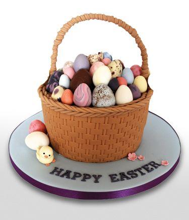 Easter Basket Cake | Heathers Cakes - Designer Wedding and Birthday Cakes, Edinburgh