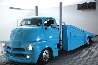 1954 Chevrolet COE Blue Cab Over Engine V8 AUTO! ROLLBACK WORKING!!