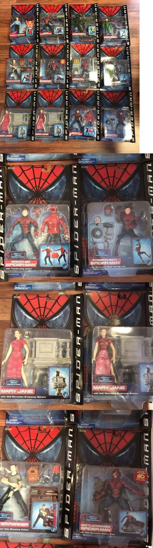 Comic Book Heroes 158671: 2002 Toybiz Spider-Man Movie Wrestler Spiderman 6 Marvel Legends Lot Of 12 Moc -> BUY IT NOW ONLY: $499.99 on eBay!