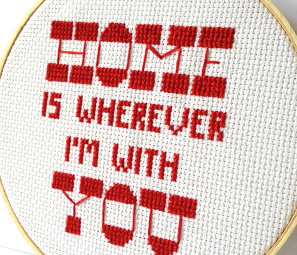 I should start cross stitching again: Wall Art, Lyrics Hoop, Home Apartment, Hoop Art, Crosses Stitches, Embroidered Quotes, Frames Crosses, Art Walls, Crafts
