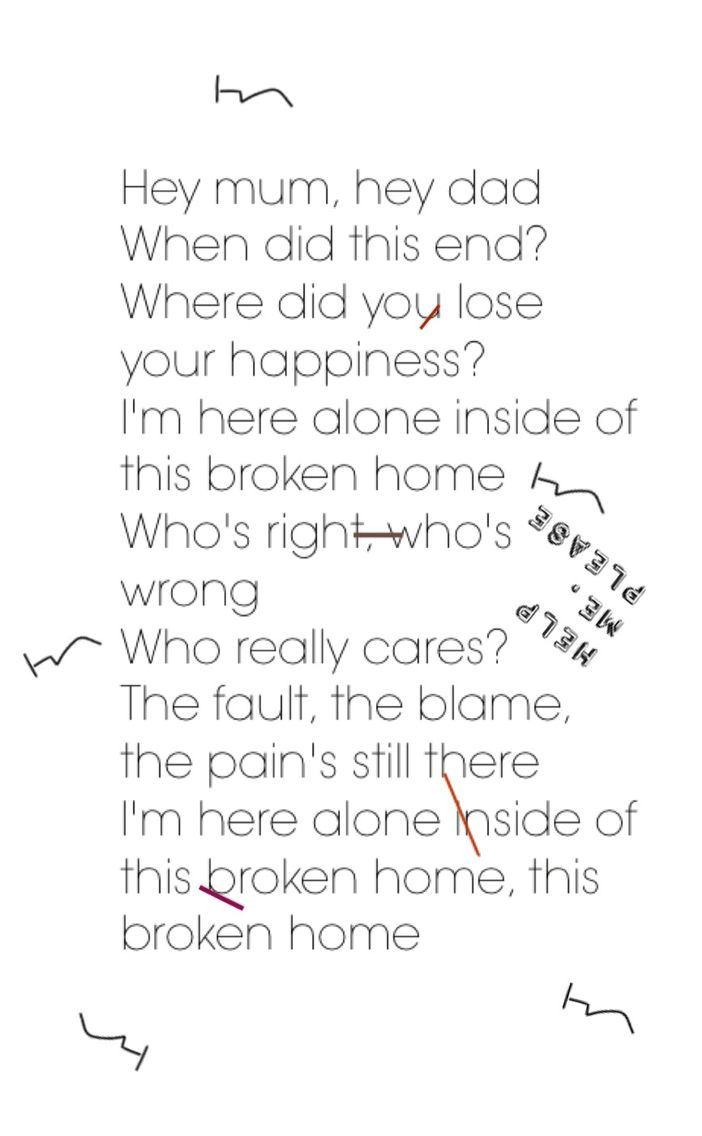 Broken Home // probably one of my fav songs on sgfg