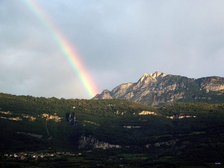 L'#arcobaleno dello #Stivo da #Rovereto 28 #Luglio 2014 ore: 6:00 Su: photo.webnps.it Link: http://photo.webnps.it/index.php/album-arco