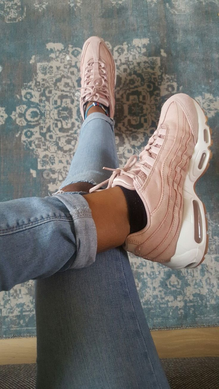 Nike air max 95 oxford pink