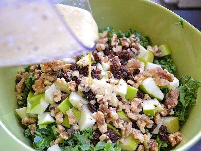 ... Food - Kale on Pinterest | Kale salads, Kale and Kale salad recipes