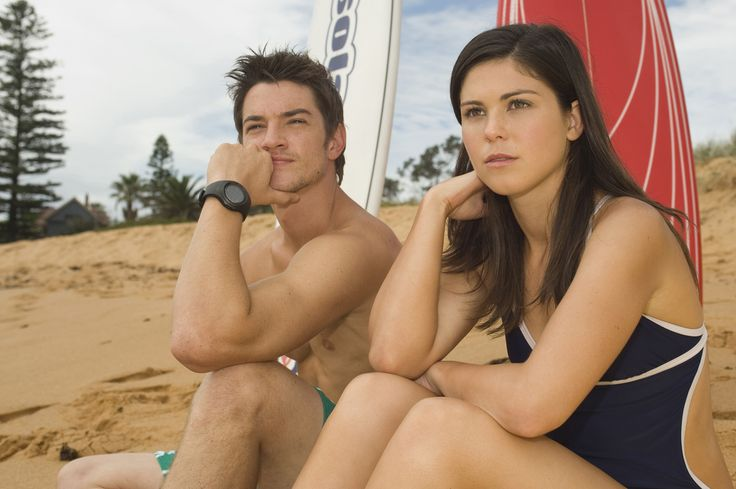 Gary and Bec - Craig Horner and Kate Bell from Blue Water High Season 3
