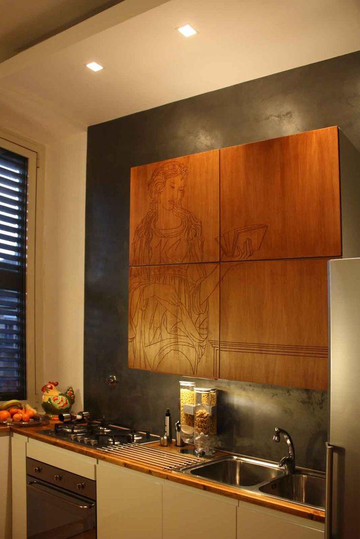 11 fantastiche immagini su armadi e cabine armadio su - Sostituzione ante cucina ...