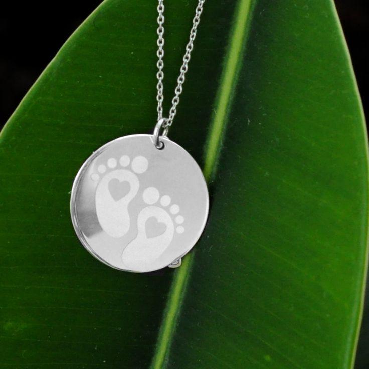 Colier argint personalizat prin gravura simbol