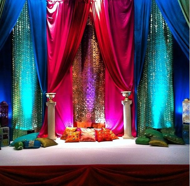 Mehndi Decoration Quote : Best ideas about mehndi stage on pinterest