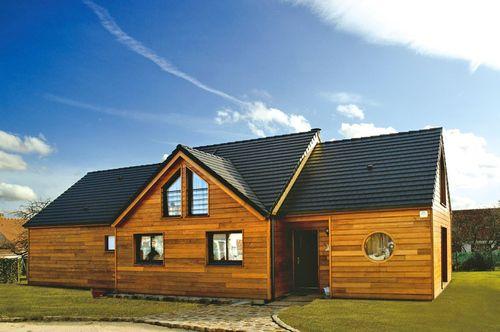 Maison en bois - Détail du plan de Maison en bois | Faire construire sa maison