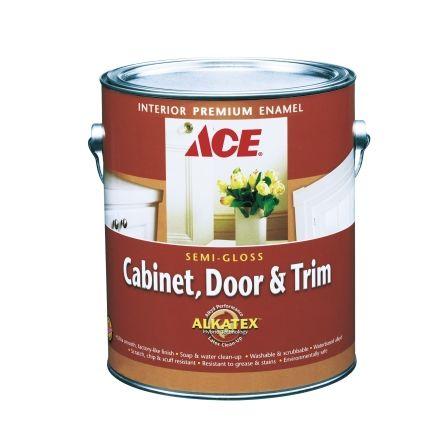 ace cabinet door trim semi gloss alkyd enamel paint
