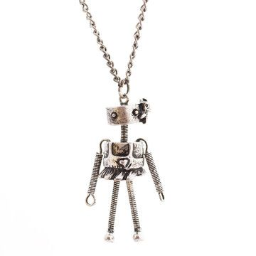 Tiny Dancer Necklace I, $26, now featured on Fab. #robot