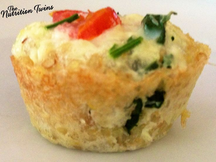 Quinoa Quiche Tots   Delish, satisfying & ONLY 20 CALORIES   A MUST-try!   Uses @egglandsbest .client   For Nutrition & Fitness Tips & RECIPES please SIGN UP for our FREE NEWSLETTER www.NutritionTwins.com