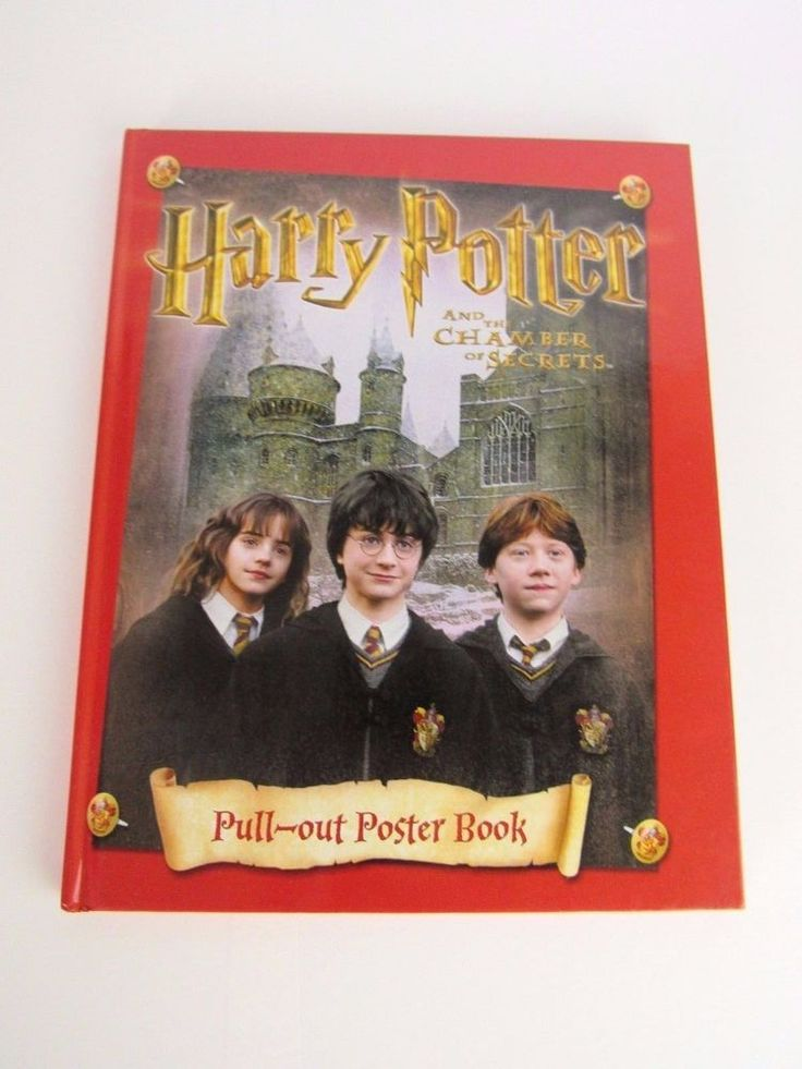 Harry Potter and the Chamber of Secrets: Pull-out Poster Book / Kids Bedroom