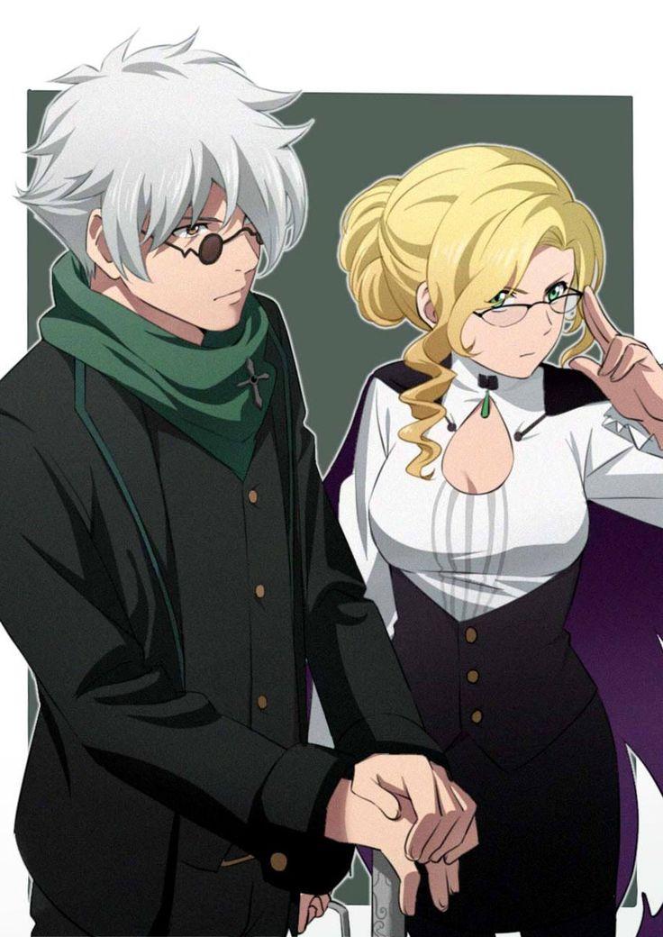 Ozpin and Glynda