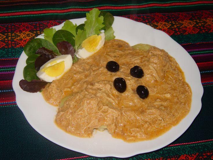 Cucina peruviana in Italia: Ají de gallina