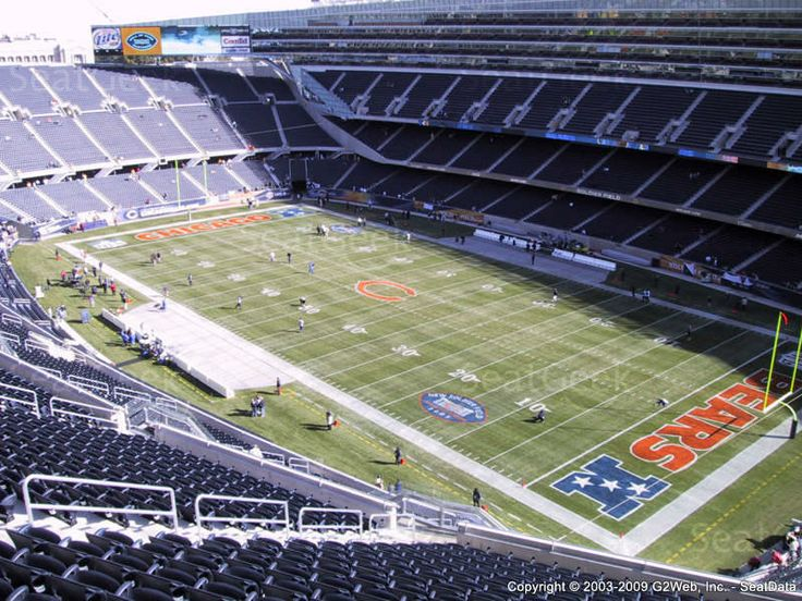chicago bears seating chart