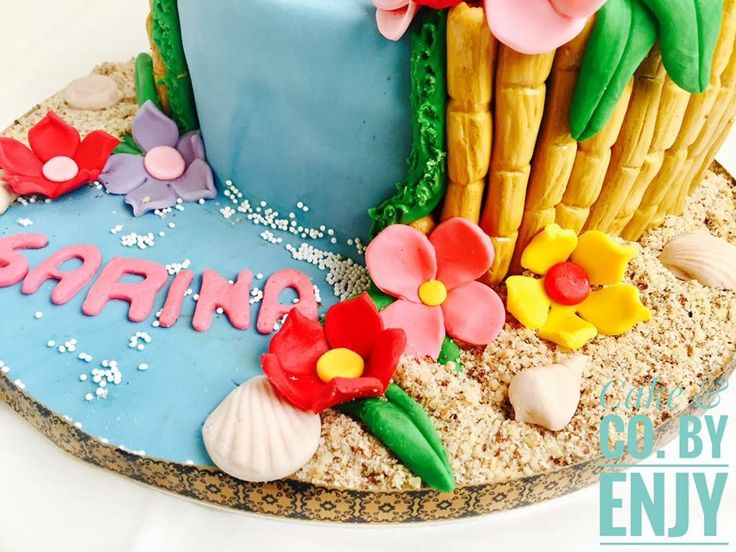 moana cake  Www.facebook.com/cakeandco.byenjy/