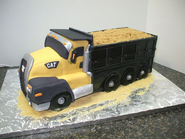 Dump Truck Cake Design : 1000+ ideas about Dump Truck Cakes on Pinterest ...