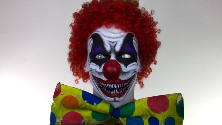 déguisement Halloween homme  - effrayant clown et tuto de maquillage