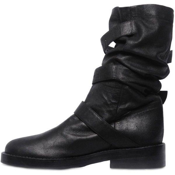 Ann Demeulemeester Black Pike Boots najWEjwagy