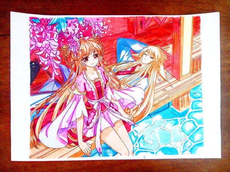 Ghim của manhua magazine trên Cover art manhua của Akai