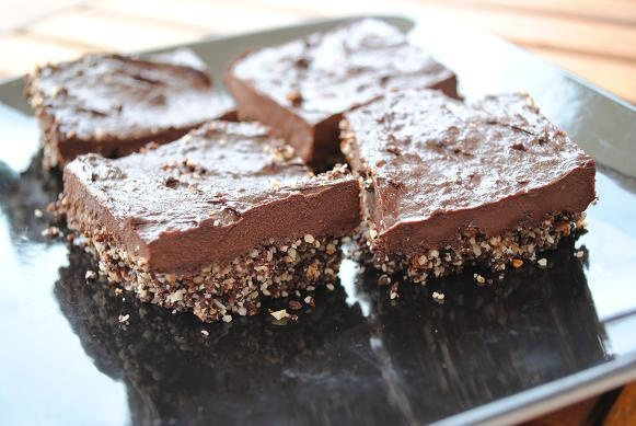 Raw Chocolate Fudge Brownies #justeatrealfood #hungryhealthyhappy