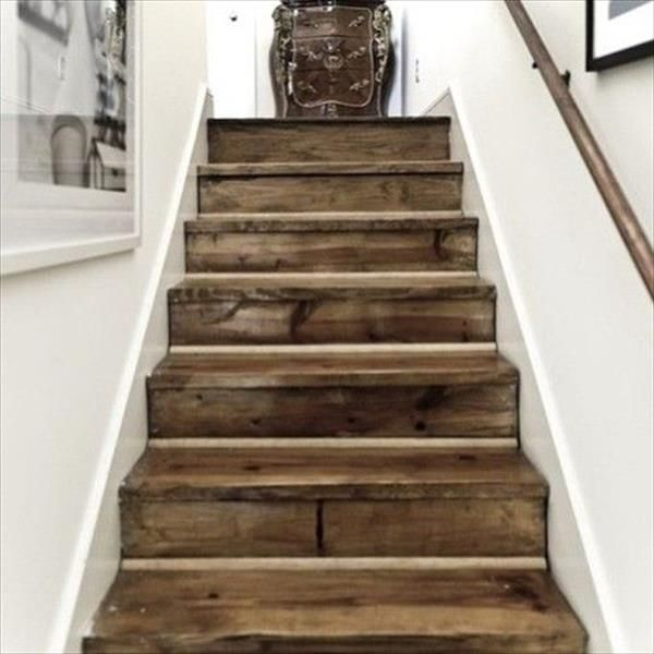Old Pallet Stairs Ideas | Pallets Designs