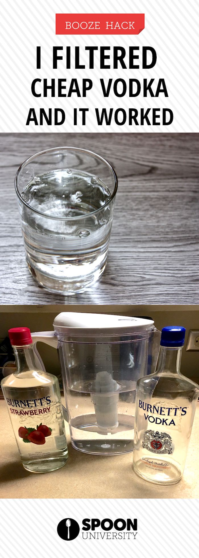 You won't believe this brita filter hack actually turns your cheap vodka into top shelf quality!