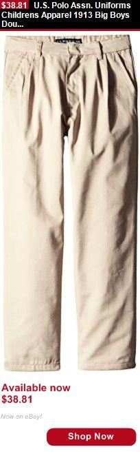 Boys uniforms: U.S. Polo Assn. Uniforms Childrens Apparel 1913 Big Boys Double BUY IT NOW ONLY: $38.81