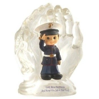 """Lord Bless this Marine"" Figurine"