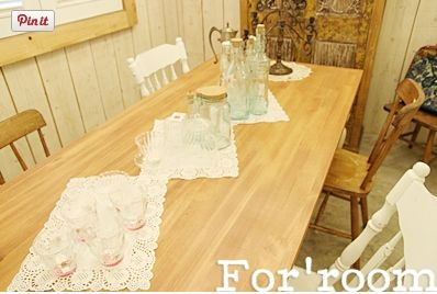 White vintage style studio by For'room. South Korea.