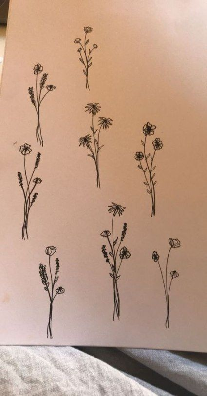 59+ Ideas Tattoo Flower Small Simple Henna Designs For 2019 #flowertattoos