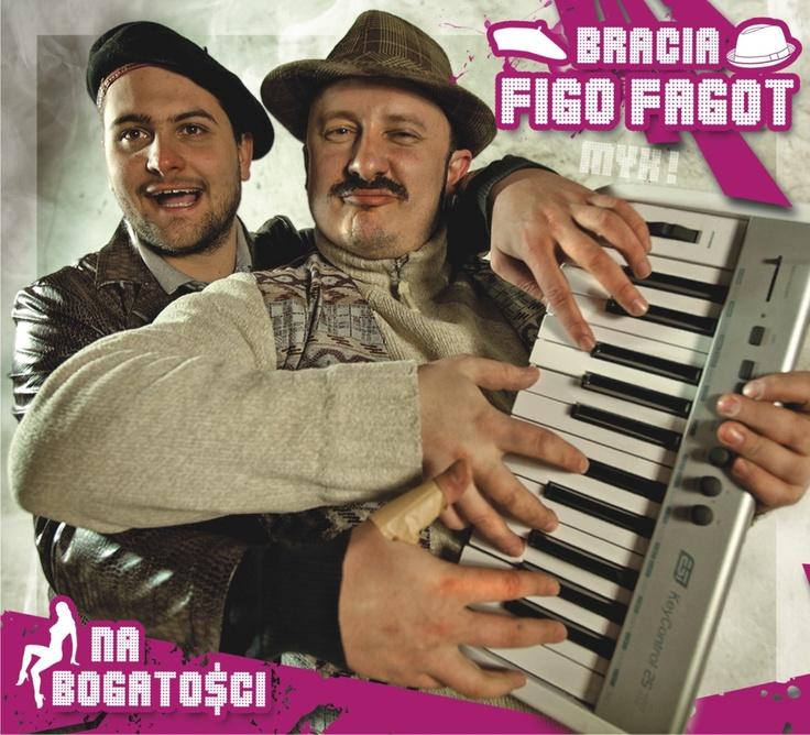 Bracia Figo Fagot - Na bogatości [CD]  Sklep: http://www.sprecords.pl/muzyka/bracia-figo-fagot-na-bogatosci-cd_p_213.html  Cena:27,99 PLN
