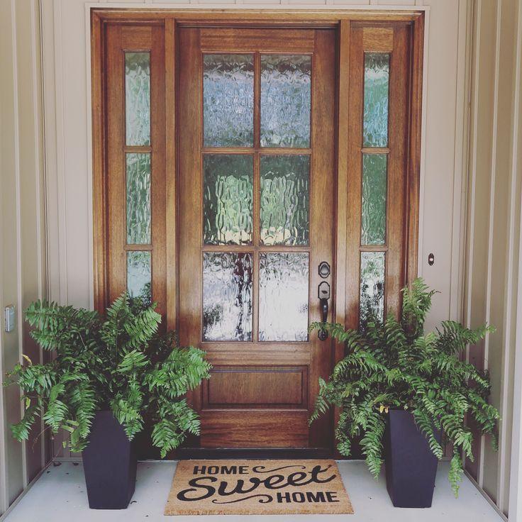 Fantastic Photographs Farmhouse Front Door Privacy Concepts Interior Designers O Concepts In 2020 Exterior Doors With Sidelights House Front Door Front Door Design