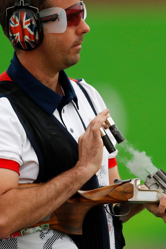 Ed Ling - Shooting. Men's Trap.