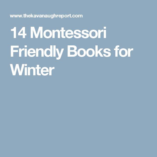 14 Montessori Friendly Books for Winter
