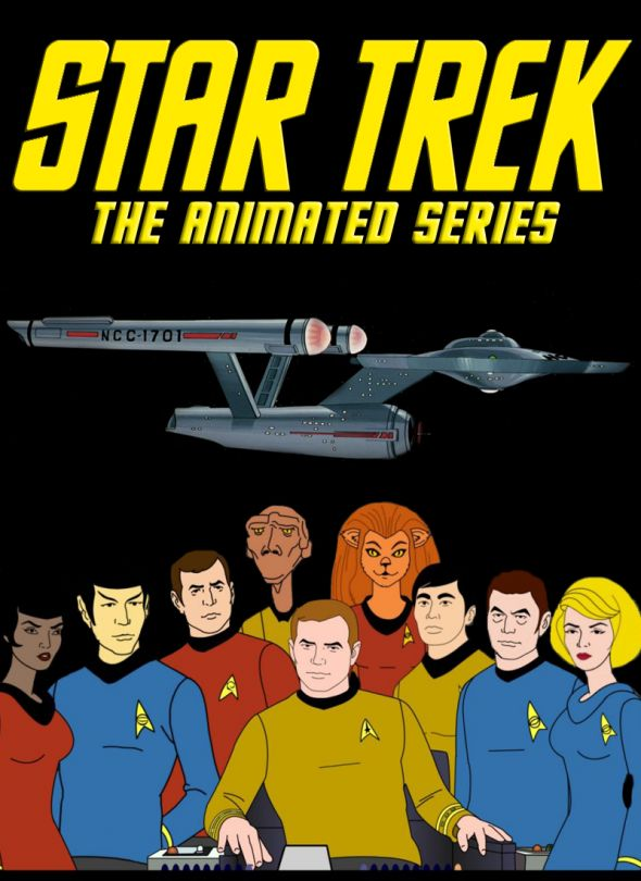 Star Trek The Animated Series. Premiered in 1973 and ran until 1975. It featured all the original actors' voices.