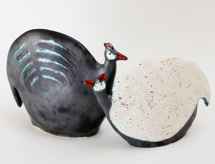 Perliczki ceramiczne - komplet