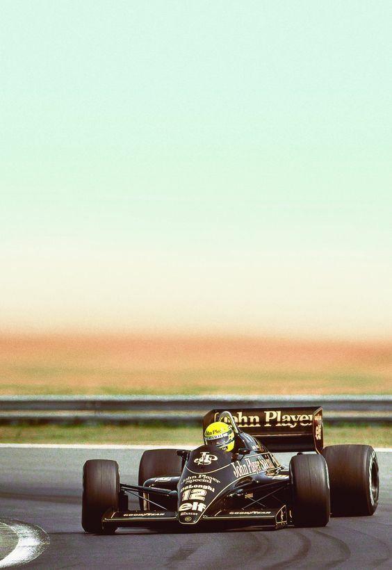 Ayrton Senna | Lotus
