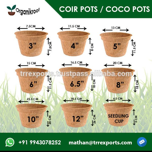 19 best coco peat coir pith sitcocoirproducts images on eco friendly coco coir pots garden with 100 biodegradable solutioingenieria Choice Image