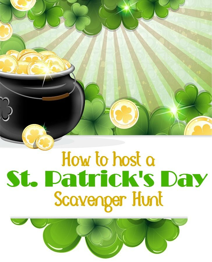 How to Host a St. Patrick's Day Scavenger Hunt - This Mama Loves. If you are looking for a family friendly game to enjoy this St. Patrick's Day, look no further than this St. Patrick's Day scavenger hunt. It is a great way to get into the spirit of the holiday while having some frugal fun at the same time.